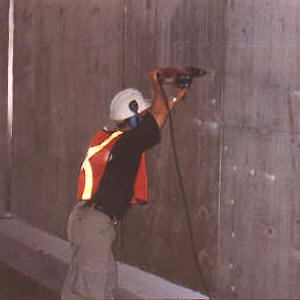 Underpass Crack Repair
